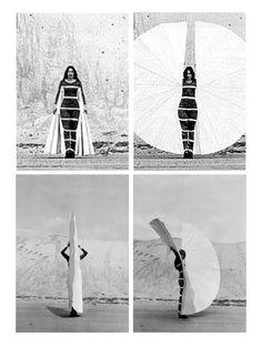 Rebecca Horn, Body fan 1973-74