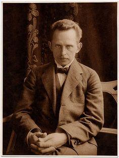 Oscar Barnack selfportrait ca. 1914