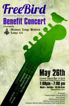 Free Bird Benefit Concert May 2013 @ the Lower Deck Lower Deck, Take It Easy, Fundraising Events, Mental Health Awareness, Benefit, Bird, Concert, Free, Recital
