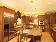 Kitchen Floor Plans, Kitchen Design  from houseplansandmore.com