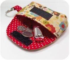Keychain Clutch Sewing Pattern Mini Pouch by michellepatterns