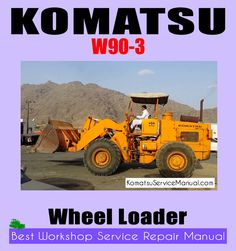 komatsu service manual download (komatsuservicemanual) on pinterestthis wheel loader w90 3 workshop repair manual will easily help you how to repair