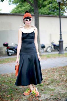 #susiebubble #susiestyles #susielau #susannalau #black #skirt #women #fashion #shirt #chic  #jupe #skirt #top #couleurs #sneakers #hat #chapeau #glasses #colors  #streetfashion #streetstyle #style #look #outfit #moda #fashion #mode #streetchic #streetstyle #street by #sophiemhabille