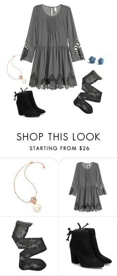 """""""Grace Russell 1.1 {Good Witch}"""" by sarah-natalie ❤ liked on Polyvore featuring Folli Follie, H&M, Fogal, goodwitch, hallmark and GraceRussell"""
