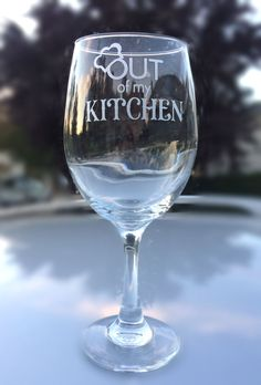 Chef Gift  Out of my Kitchen with Optional Message  by EVerre