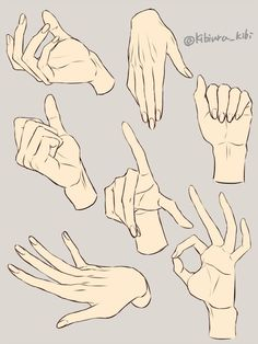 The teachers of the Famous Artist's School correspondence course were good at drawing hands, especially Al Dorne, who I believe did these examples. They had a useful three-step process for approachin Hand Drawing Reference, Anime Poses Reference, Drawing Hands, Male Pose Reference, Drawing Sketches, Art Drawings, Drawing Tips, Drawing Drawing, Main Manga