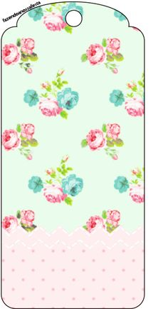 Tag-Agradecimento-Floral-Verde-e-Rosa.jpg (362×665)