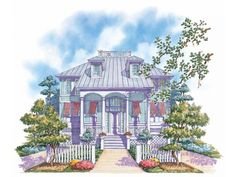 NeoClassical House Plan with 2957 Square Feet and 5 Bedrooms from Dream Home Source   House Plan Code DHSW10448
