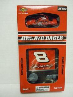 Nascar Mini Micro R/C #8 Racer Dale Earnhardt Jr. 1:72 Scale 27MHz by Team Up International, Inc.. $19.99. In Stock. Box has shelf wear. Mint in box Nascar Toys, Stock Box, Dale Earnhardt, Shelf, Mint, Electronics, Games, Shelving, Shelving Units