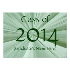 Class of 2014 Graduation Invitations by Janz