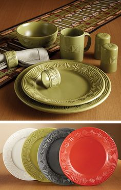Made In Usa 100 Terra Patina Pattern By Hf Coors American Dinnerware Sets Pinterest