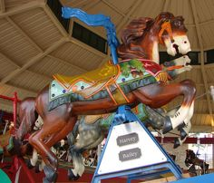 Over the Jumps Carousel horse