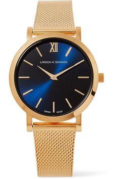 Larsson & Jennings - Lugano Solaris Gold-plated Watch