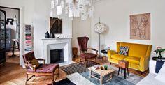 - DECORACION - Una casa en París. Salón ~ Living room