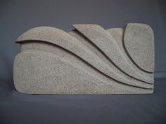 Art Nouveau Stone Sculpture Hand Carved Stone by MiscKDesigns, $135.00