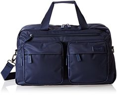 Lipault 19 Inch Weekend Bag in navy, for carry on travel