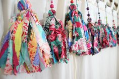 Scrunchies - Just another WordPress site Duct Tape Decorations, Drop Cloth Projects, How To Make Tassels, Hippie Festival, Doll Clothes Patterns, Fabric Scraps, Scrunchies, Couture, Bead Crafts