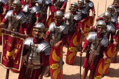 Roman Army Reenactment.