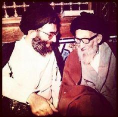 Sayyid Ali Khamenei & his father Ali, Father, Ruffle Blouse, Tops, Women, Fashion, Pai, Moda, Women's