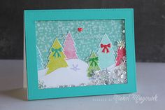 Such an Awesome card created by Nichol Magouirk using the Simon Says Stamp November 2014 card kit.  October 2014