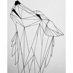 Pete Szuszko @peteszuszko Geometric Humming Bird #sketch #pen ...