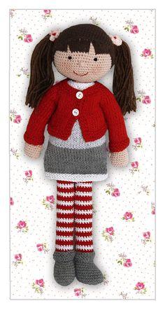 Poppy- lalka na szydełku/ Gehäkelte Puppe (39 cm)