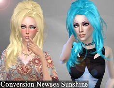 Conversion HairNewsea Sunshine - Deep Spase