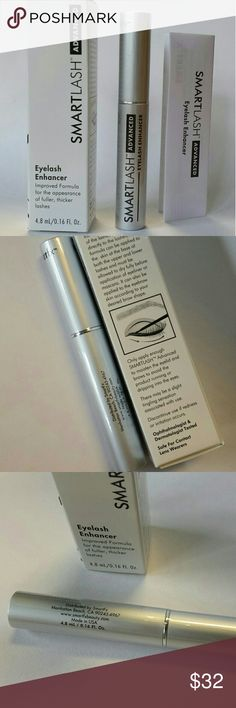 NIB Full Size SmartFX SmartLash Eyelash Enhancer Full size, sealed, new in box with instructions.  SmartFX SmartLash Eyelash Enhancer is a non-irritating lash enhancement gem completely transforms the appearance of your lashes. If you desire a lash line that looks thick, long and full, SmartLash is the formula for you. The prostaglandin-free blend frees you from the harsh side effects of other lash enhancement products. Results may be seen in as little as thirty days! Also beneficial for…