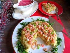 Gâteau de Filets de Merlu & Sa Crème de betteraves