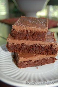 Brownies for a Crowd   The Sisters Cafe - (cookie sheet size)