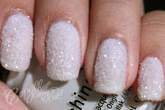 Crystal snowy #Nails