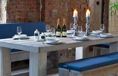 Der WITTEKIND Esstisch 6+2 aus der Terrassenmöbel-Serie passt optimal auf nahezu jede mittelgroße Terrasse und macht Ihren Außenbereich zu einem besonderen Anlaufpunkt für Freunde, Bekannte und die Familie.
