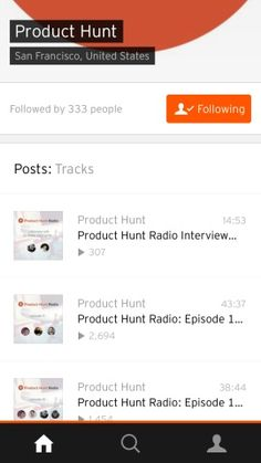 SoundCloud Screenshots