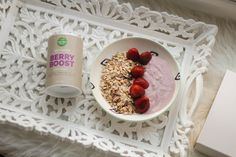 Natural mojo mon avis sur le « Berry boost » et le « Fit banana » – Nadja aime