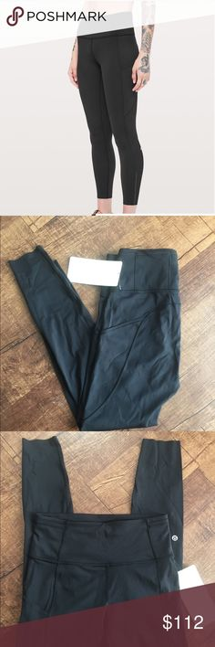 """eb67c986c393c Lululemon Fast and Free 7/8 Tight II Nulux 25"""" Designed For Run,"""