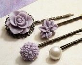 fields of lavender bobby pins