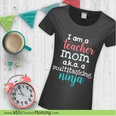 Teacher mom multitas