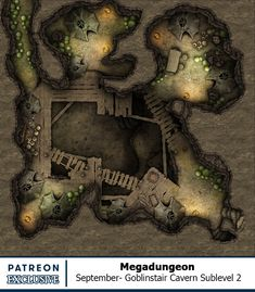 Map of the Month - Back Catalogue Fantasy Map, Fantasy Places, Fantasy World, Dungeons And Dragons Game, Dungeons And Dragons Homebrew, Resident Evil, Grid, The Pirate King, Dungeon Maps