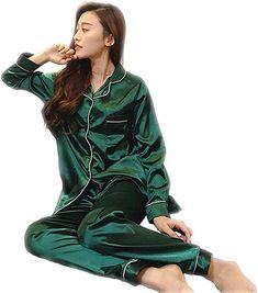 184d5bc29cf2 Naughtyspicy Women s Satin Pajamas