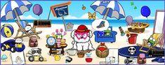 Linda Walsh Originals Dolls and Crafts Blog: Have Fun At The Beach - Peaches Habitat!