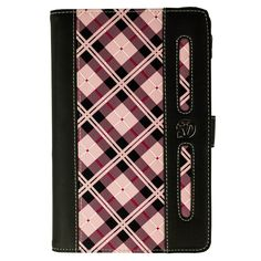 Dauphine Pink Plaid Travel Wallet Case for Dragon Touch A7 7-inch Tablet. Stylish, lightweight and functional VanGoddy Duaphine Folio Case. Premium faux tapestry complimented with elegant intricate stitch. Soft microfiber lined interior compliments your device with a soft and gentle texture. 4 Way Corner restraint straps keep your device securely inside the case. Features a matching secure carrying hand strap and 2 memory card slots.