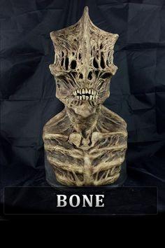 Deacon Silicone Mask Creepy Masks, Cool Masks, Creepy Art, Nightmare Before Christmas Halloween, Halloween Stuff, Halloween Diy, Professional Halloween Masks, Face Off Makeup, Immortal Masks