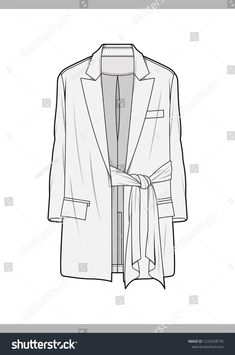 OUTER Fashion technical drawings flat Sketches vector template  https://www.etsy.com/shop/HaydenkooDesigns Fashion Illustration Template, Pattern Illustration, Clothing Sketches, Croquis Fashion, Flat Sketches, Fashion Flats, Work Fashion, Technical Drawings, Fashion Collage