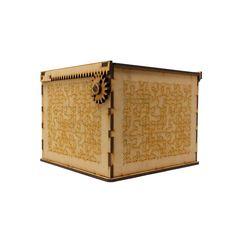 Mistery Box  . . . . . #wood #tryplay #laser #lasercut #rsmx #randomstudiomx #mdf #puzzle #madera #engrane #machinery #laracroft #acertijo #caja Laser, Decorative Boxes, Wood, Home Decor, Box, Homemade Home Decor, Woodwind Instrument, Timber Wood, Trees