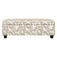 Ottomans and Benches | Handy Living Angelo:HOME Kent Storage Bench Ottoman Modern Bird Branch ...