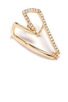 Modern jewelry is a MUST Selin Kent Lana Rose Gold Ear Wire Cuff