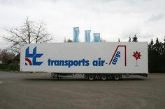 Transports Air Cargo trailer