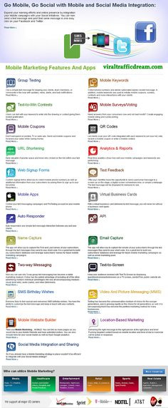 Mobile Marketing Apps Solutions.  #mobile #marketing #infographic - by Bootcamp Media ( #Marketing #SEO #Infographics )