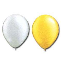 """Qualatex 16"""" Metallic Pearl Colours (50/pkg) 2 Colour Options Pearl Color, 2 Colours, Latex, Balloons, Metallic, Pearls, Globes, Beads, Balloon"""