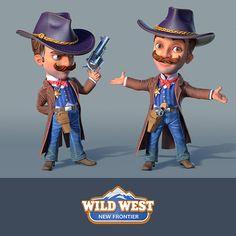 Wild West: New Frontier, SOCIAL QUANTUM on ArtStation at https://www.artstation.com/artwork/QZe8r